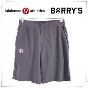 Rare!! Lululemon Barry's Flower Print Shorts